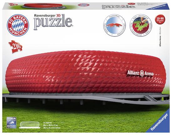 Obrázek z Allianz Arena 216 dílků