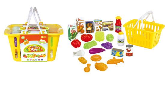 Obrázek z Košík plný potravin