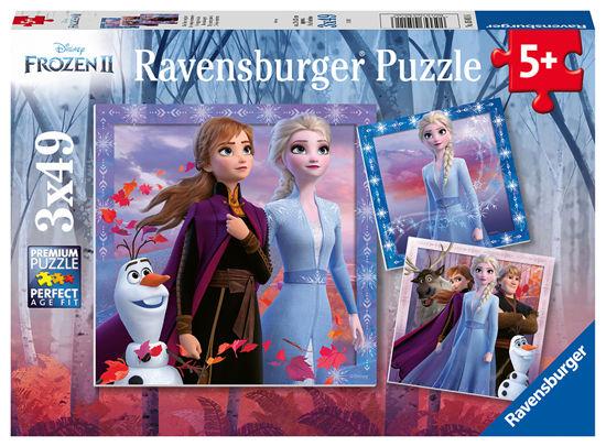Obrázek z Puzzle Ledové království 2 3x49 dílků