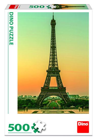Obrázek z EIFFELOVKA za soumraku 500  Puzzle