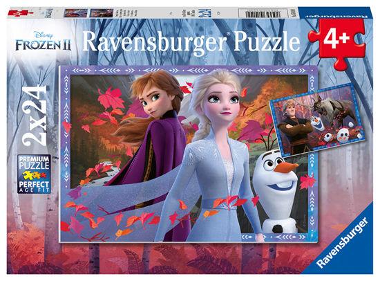 Obrázek z Puzzle Disney Ledové království 2 2x24 dílků