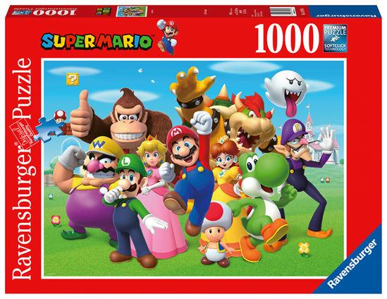 Obrázek z Super Mario 1000 dílků PUZZLE