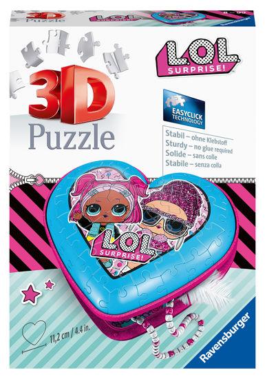 Obrázek z Srdce L.O.L. 3D 54 dílků