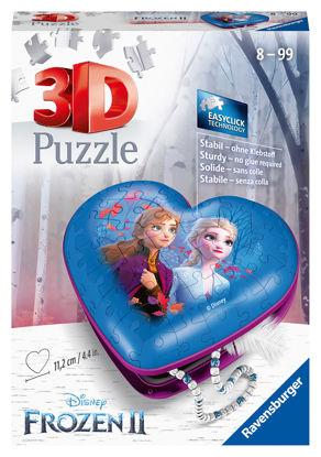 Obrázek Srdce 3D Ledové království 2