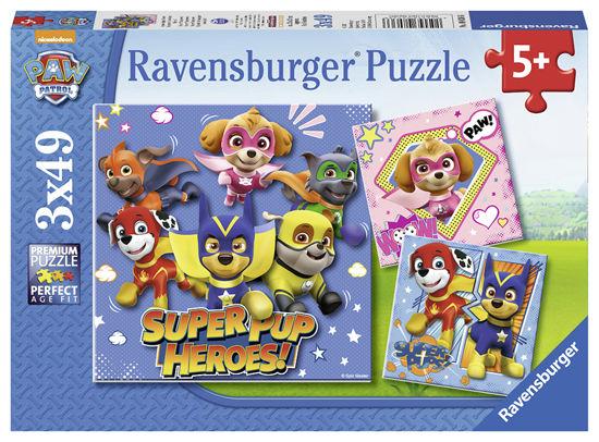 Obrázek z Puzzle Tlapková Patrola 3x49 dílků