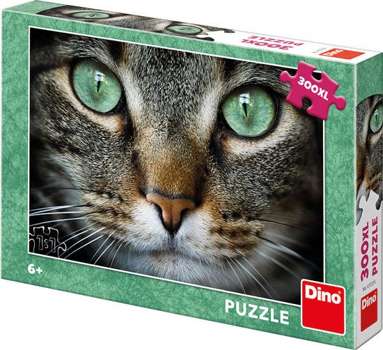 Obrázek z ZELENOOKÁ KOČKA 300 XL Puzzle NOVÉ