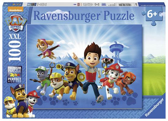 Obrázek z Tlapková patrola puzzle 100 dílků