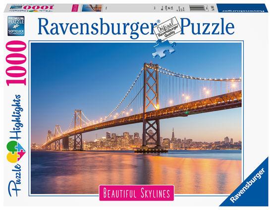 Obrázek z San Francisco puzzle 1000 dílků