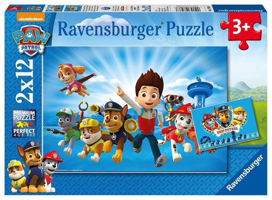 Obrázek z Tlapková patrola  puzzle 2x12 dílků