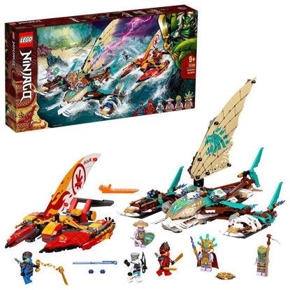 Obrázek LEGO Ninjago 71748 Souboj katamaránů na moři
