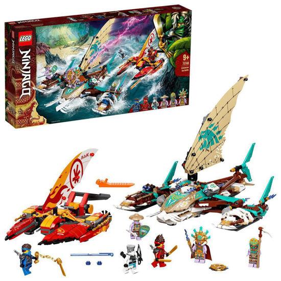 Obrázek z LEGO Ninjago 71748 Souboj katamaránů na moři