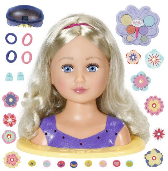 Obrázek z Starší sestřička BABY born Česací hlava