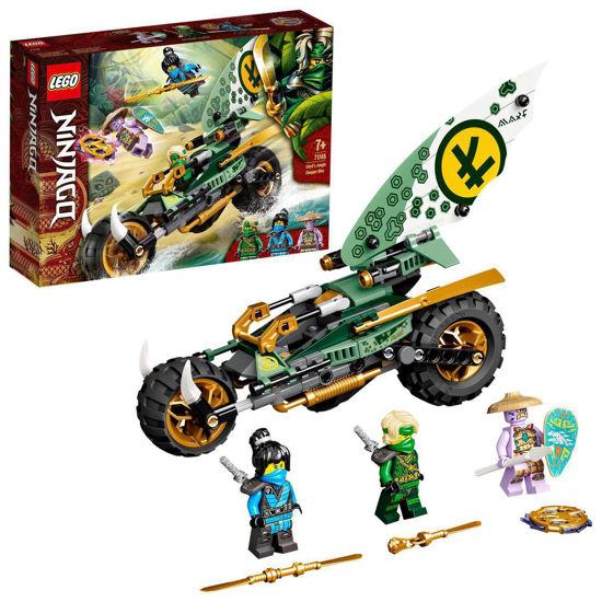 Obrázek z LEGO Ninjago 71745 Lloydova motorka do džungle