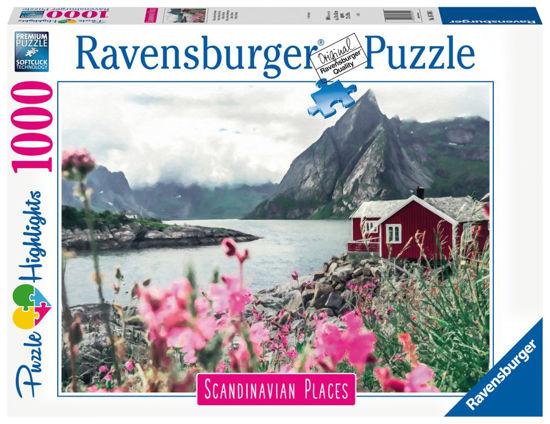 Obrázek z Skandinávie Lofoty, Norsko 1000 dílků