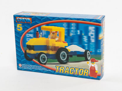 Obrázek Stavebnice Cheva 5 Traktor nový
