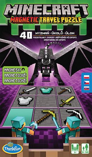 Obrázek z ThinkFun Minecraft Magnetická cestovní hra