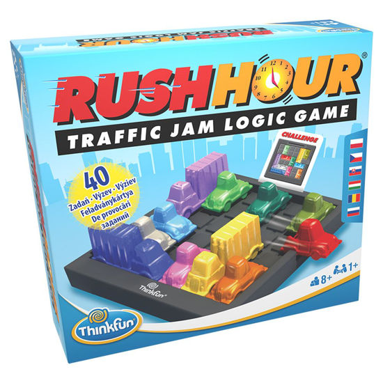 Obrázek z ThinkFun Rush Hour hra