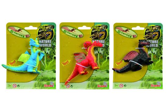 Obrázek z Gumový strečový drak, 3 druhy