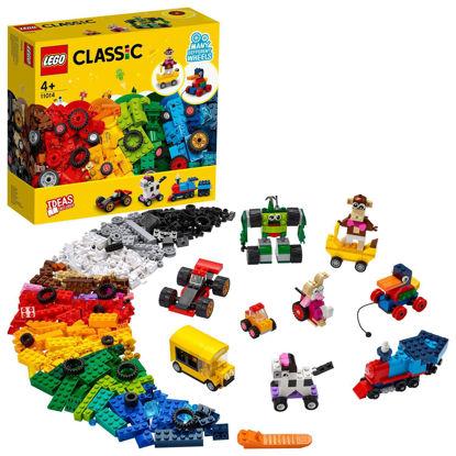 Obrázek LEGO Classic 11014                           Kostky a kola