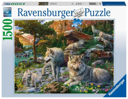 Obrázek Jarní vlci puzzle 1500 dílků