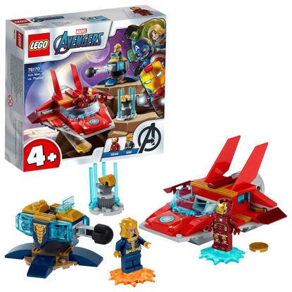 Obrázek LEGO 76170 Iron Man vs. Thanos