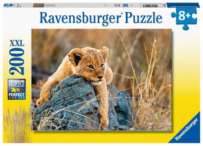 Obrázek Malý lev puzzle 200 XXL dílků