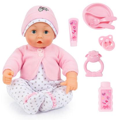 Obrázek Mluvící panenka Lisa, 46 cm
