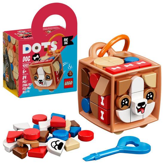Obrázek z LEGO DOTS 41927 Ozdoba na tašku – pejsek