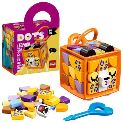 Obrázek LEGO DOTS 41929 Ozdoba na tašku – leopard