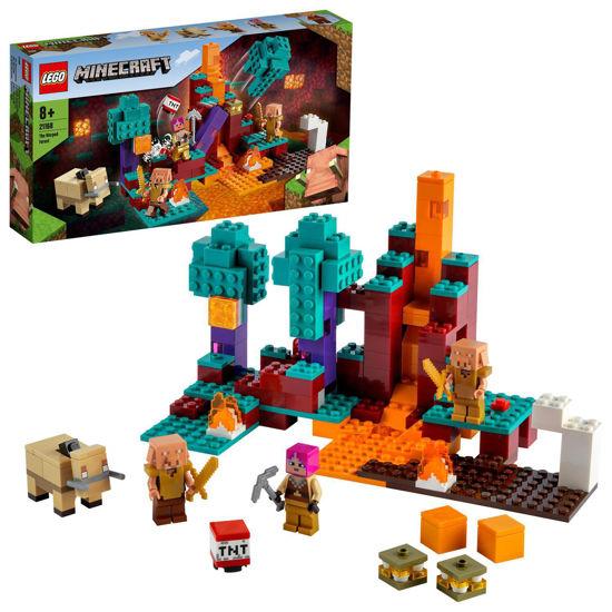 Obrázek z LEGO Minecraft 21168 Podivný les