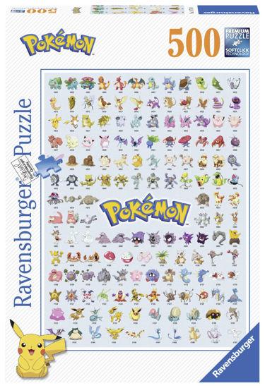 Obrázek z Prvních 151 Pokémonů 500 dílků