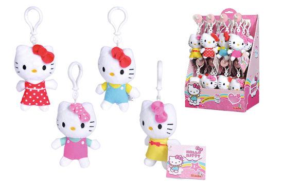 Obrázek z Plyšová klíčenka Hello Kitty, 10 cm