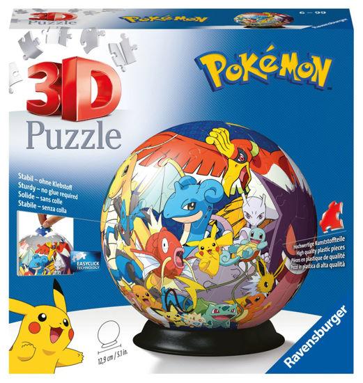 Obrázek z Puzzle-Ball Pokémon 72 dílků