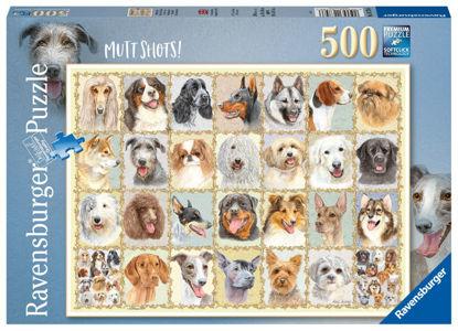 Obrázek Psí portréty puzzle 500 dílků