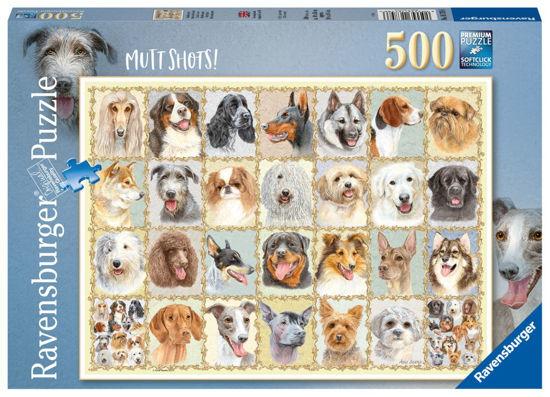 Obrázek z Psí portréty puzzle 500 dílků
