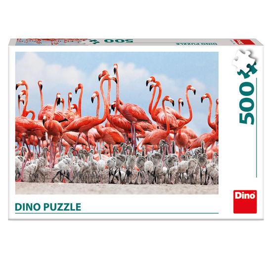 Obrázek z PLAMEŇÁCI 500 Puzzle