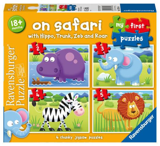 Obrázek z Moje první puzzle Na safari 2/3/4/5 dílků