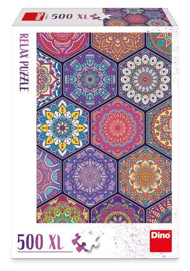 Obrázek z MANDALY 500 XL relax Puzzle