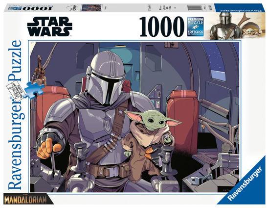 Obrázek z Puzzle Mandalorian 1000 dílků