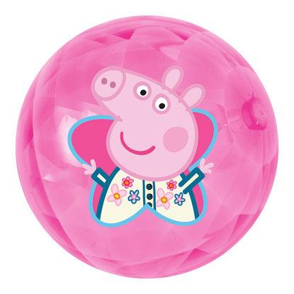 Obrázek Míč svítící Peppa Pig 100 mm