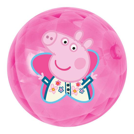 Obrázek z Míč svítící Peppa Pig 100 mm