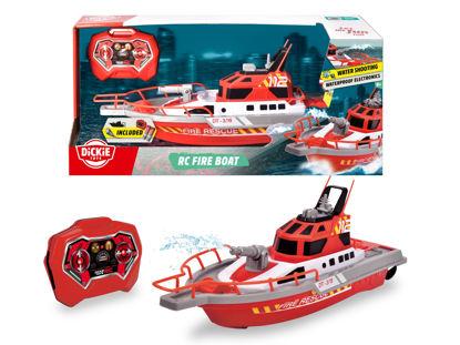Obrázek RC hasičská loď 37cm, 3kan