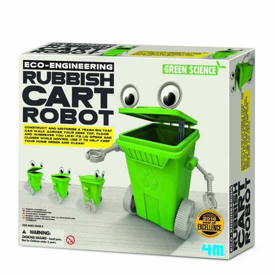 Obrázek z Odpadkový dětský robot