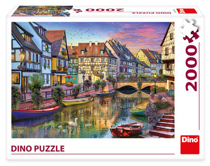 Obrázek ROMANTICKÝ PODVEČER 2000 Puzzle NOVÉ