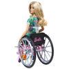 Obrázek z Barbie MODELKA na invalidním vozíku - blondýna