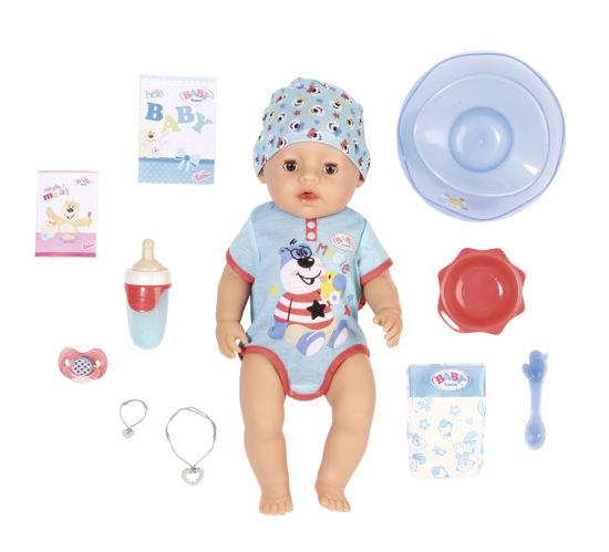 Obrázek z BABY born s kouzelným dudlíkem, chlapeček, 43 cm
