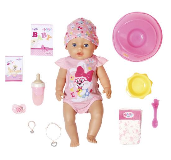 Obrázek z BABY born s kouzelným dudlíkem, holčička, 43 cm