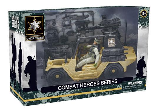 Obrázek z Combat Hero - voják s SUV