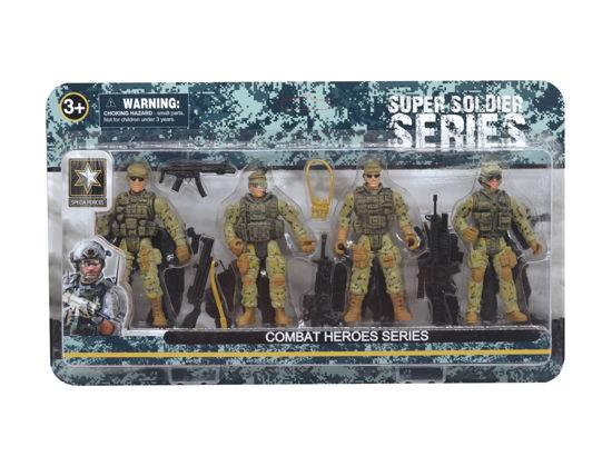 Obrázek z Combat Hero - vojáci 4ks