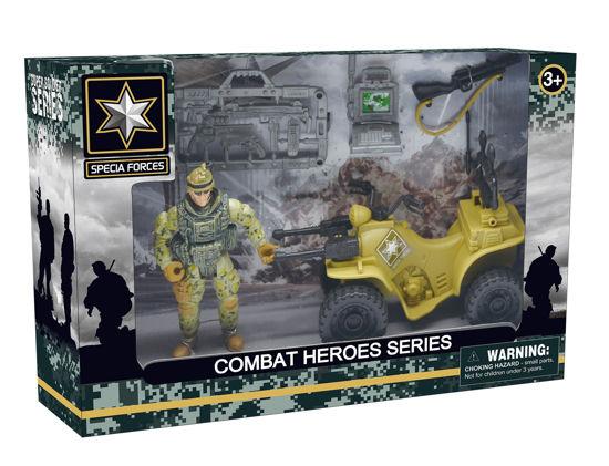 Obrázek z Combat Hero - voják se čtyřkolkou